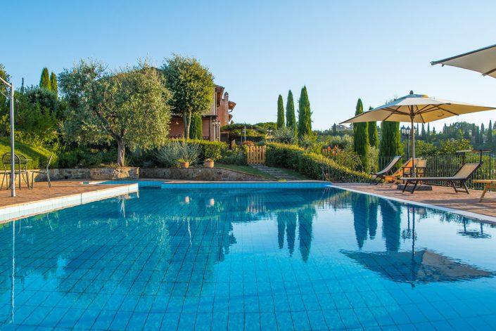 Piscina - Agriturismo Podere I Colli - Montaione - Toscana